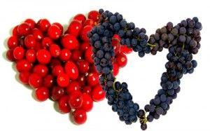 Ягоди при вагітності: виноград і журавлина