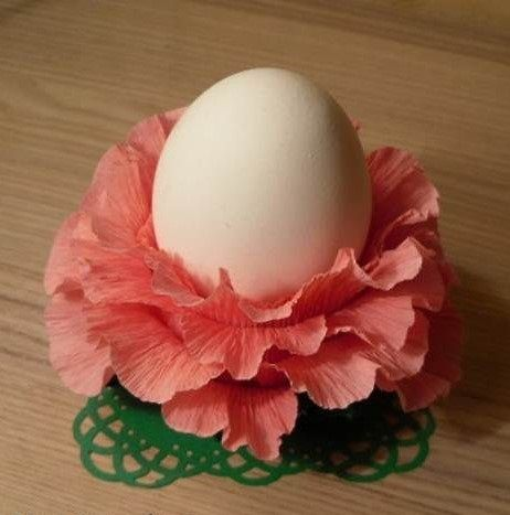 Підставка для пасхального яйця своїми руками з паперу: майстер-клас з фото