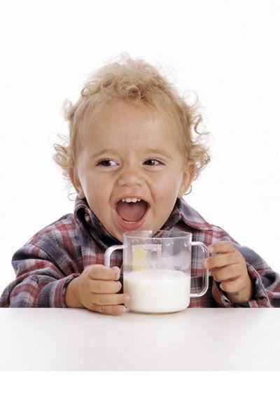 Козяче молоко в дитячому меню