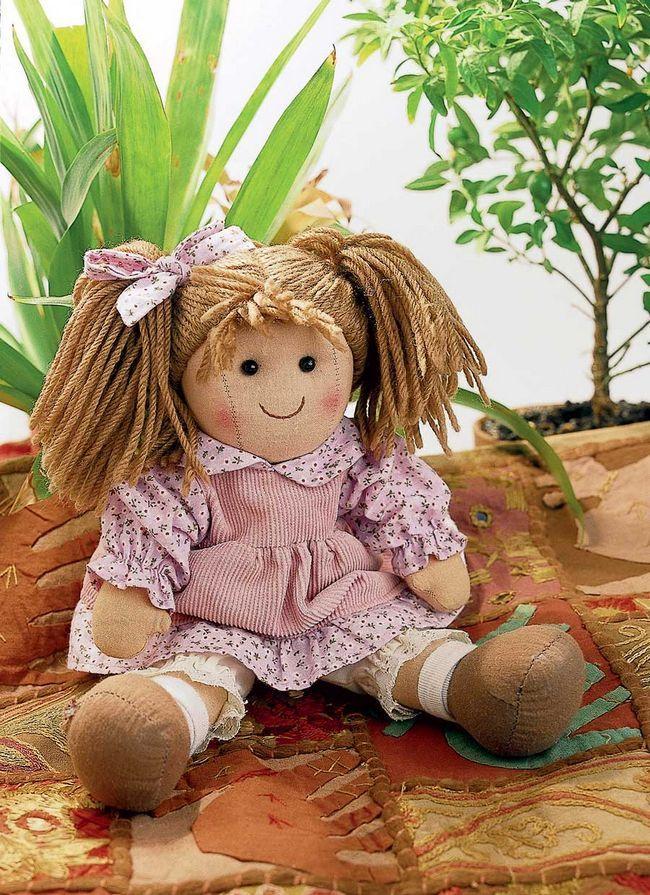 Лялька для малюка: своїми руками