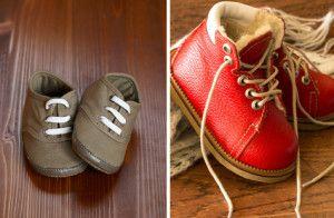 Важливість взуття за розміром для однорічної дитини